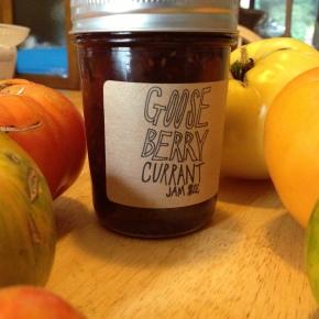 Gooseberry Currant Jam Tarts from Shady Acres OrganicFarm