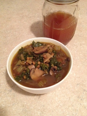 A Spoonful of Soup: Lentil vegetable soup to fight the commoncold