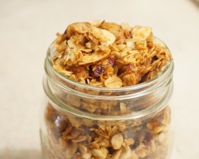 A new feat: Homemade granola